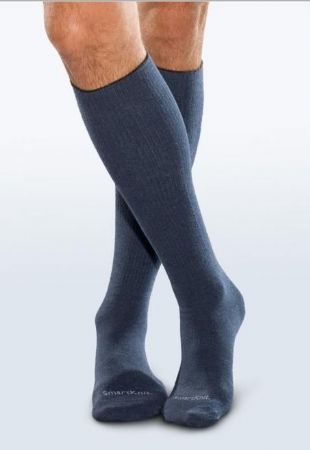 Adult Seamless Sensitivity Socks - Over the Calf - NAVY - (Smartknit)
